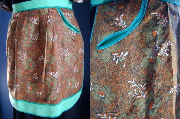 slit pocket apron